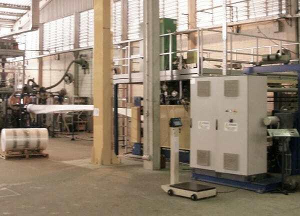 Foam sheet extrusion line ALEMO EXT120