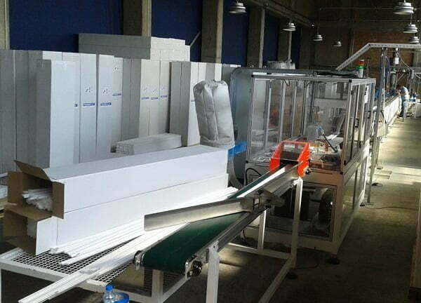 Extrusion line for XPS foam profile and cornice production ALEMO EXT89-XPS-COR