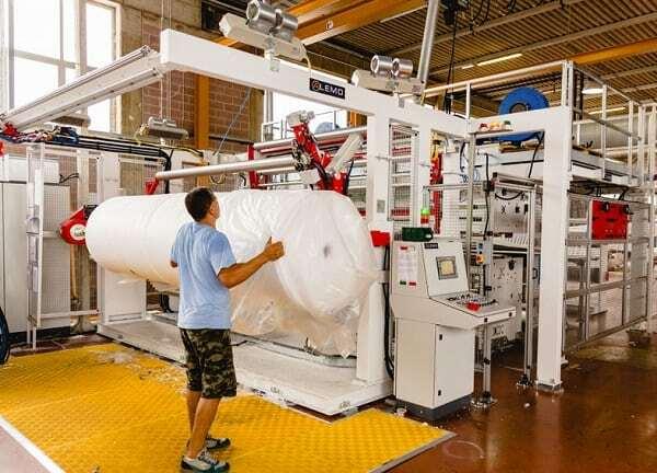 Foam sheet extrusion line ALEMO EXT130