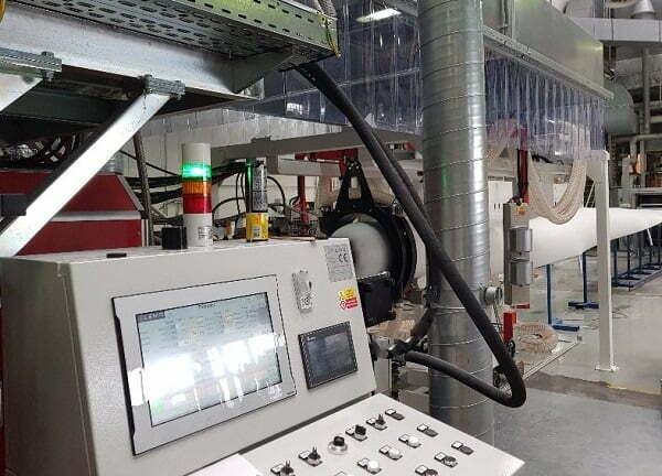 Foam sheet extrusion line ALEMO EXT165