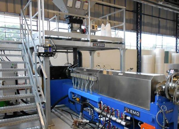 Foam sheet extrusion line ALEMO EXT90M