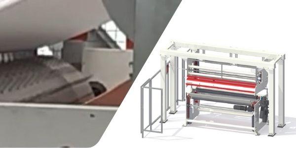 Pe foam sheet perforating machine
